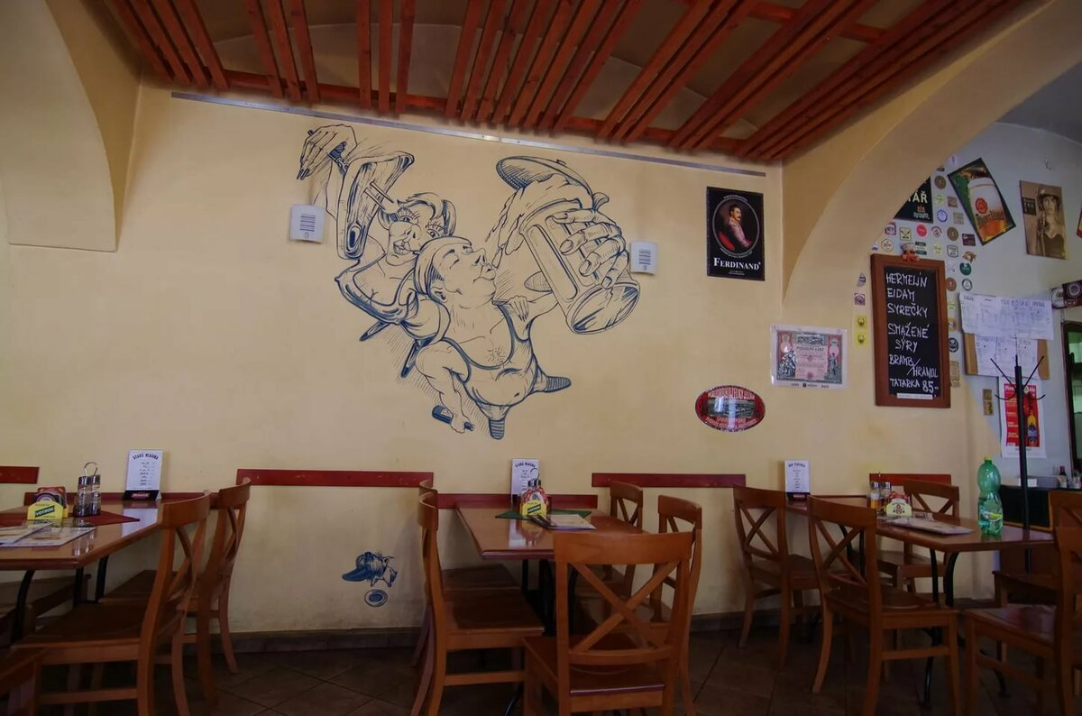 Людочки, смешные рисунки на стенах в пивбарах