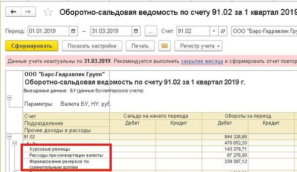 Начислены проценты по договору займа проводки