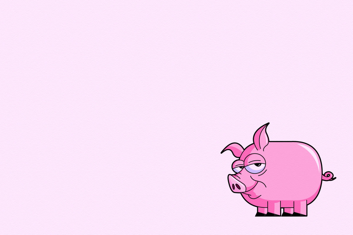 Прикольные розовый картинки