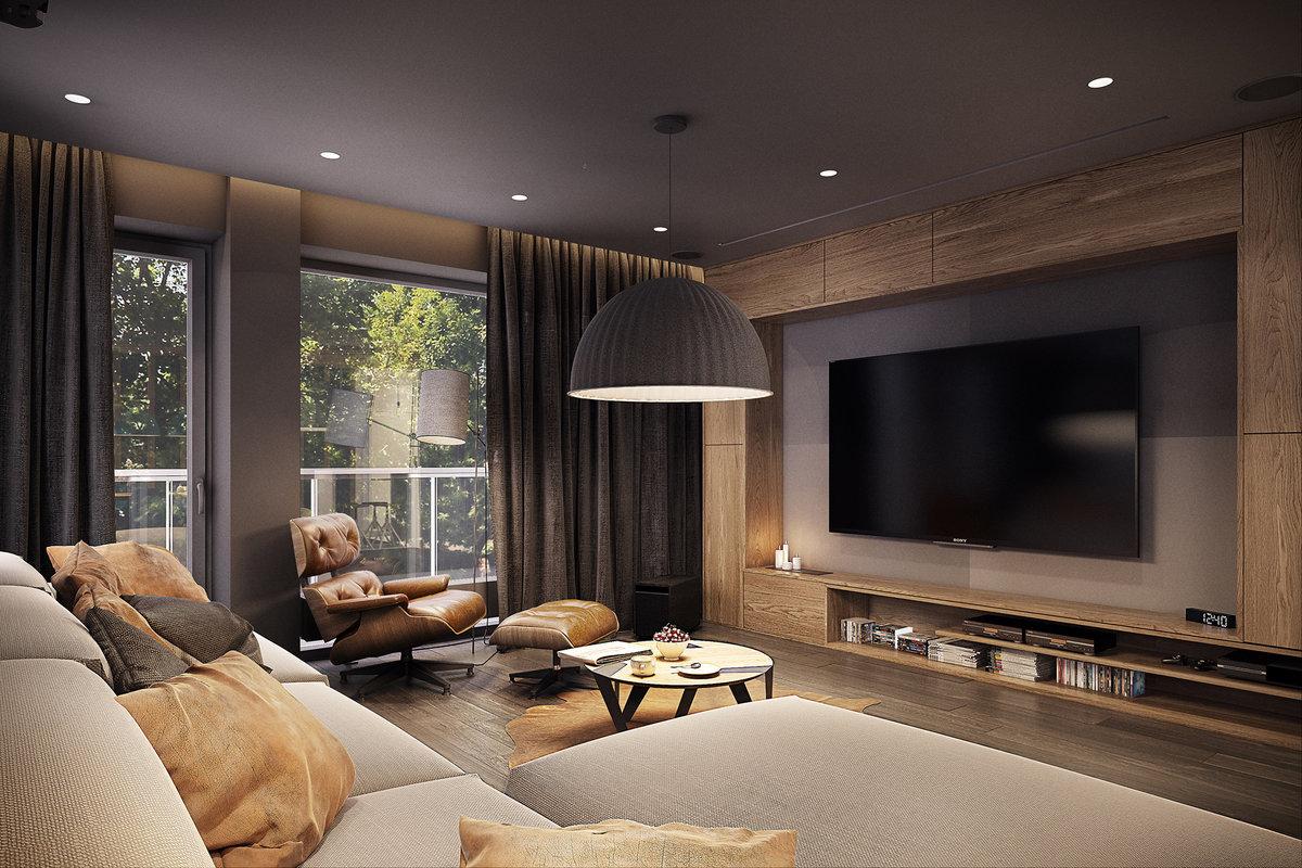 позировала оформление стены с телевизором в гостиной фото брус