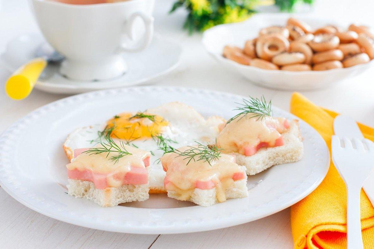 Быстрый сытный завтрак рецепт с фото