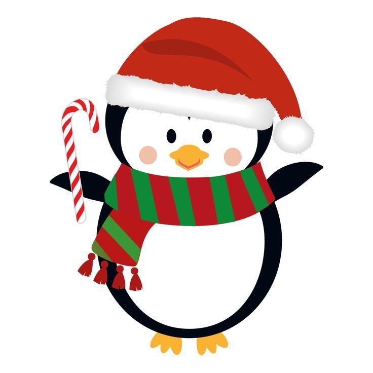новогодние пингвины картинки можно использовать для