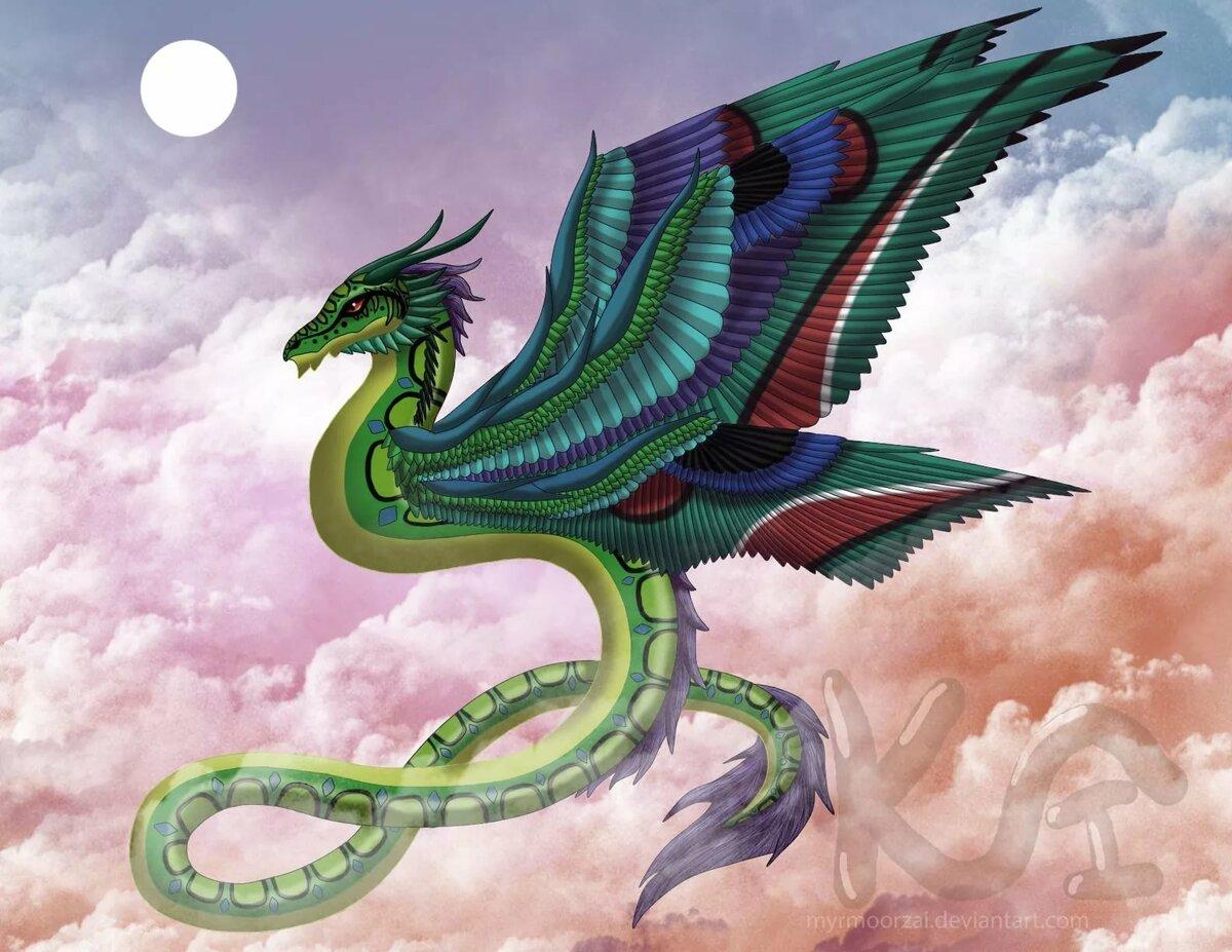 картинки про пернатых драконов самых мощных
