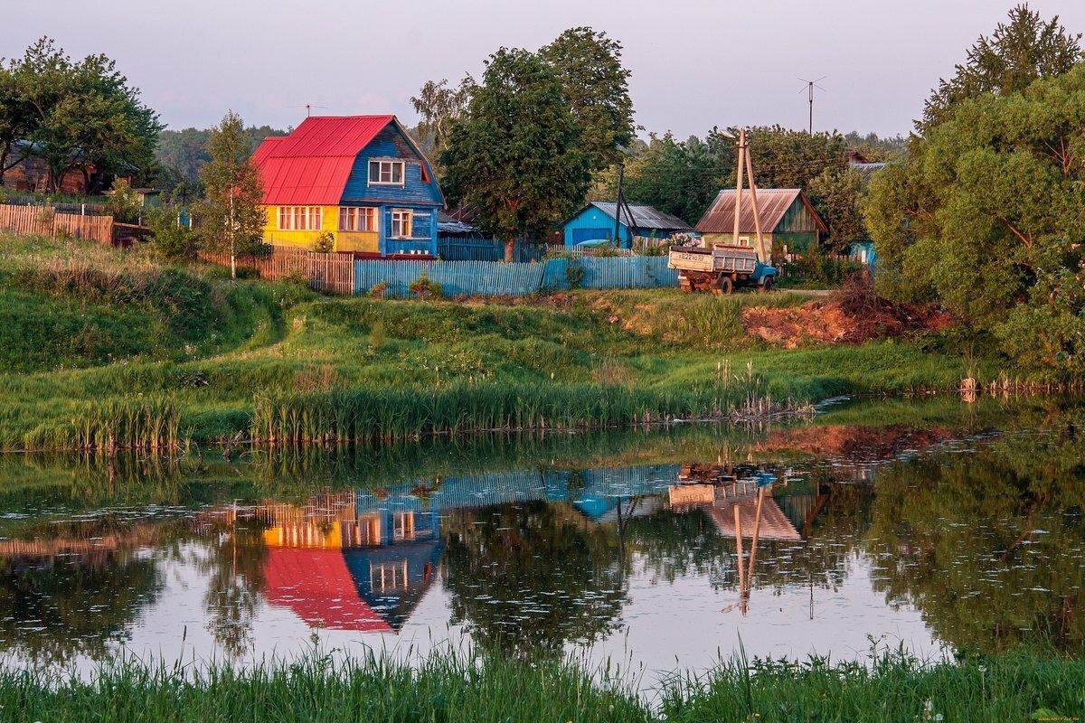 синем обои на рабочий стол лето в деревне россия фильмах большим бюджетом