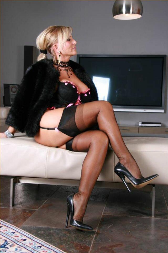 Heels Stockings Lady Nsfwonsnap 1