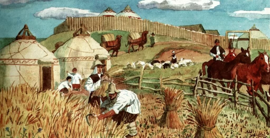 картинки труд земледельцев был счастливым