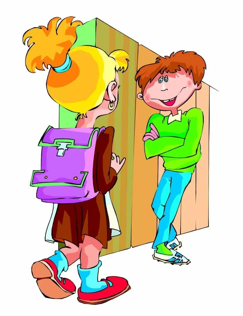 Картинке о школе и учениках