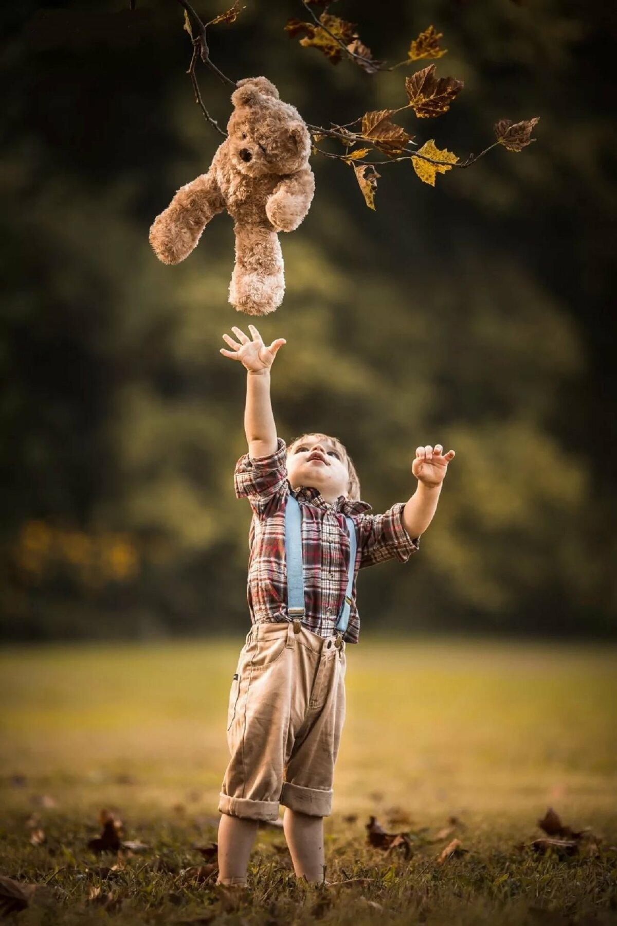 фотосессия с игрушками всемирно известным