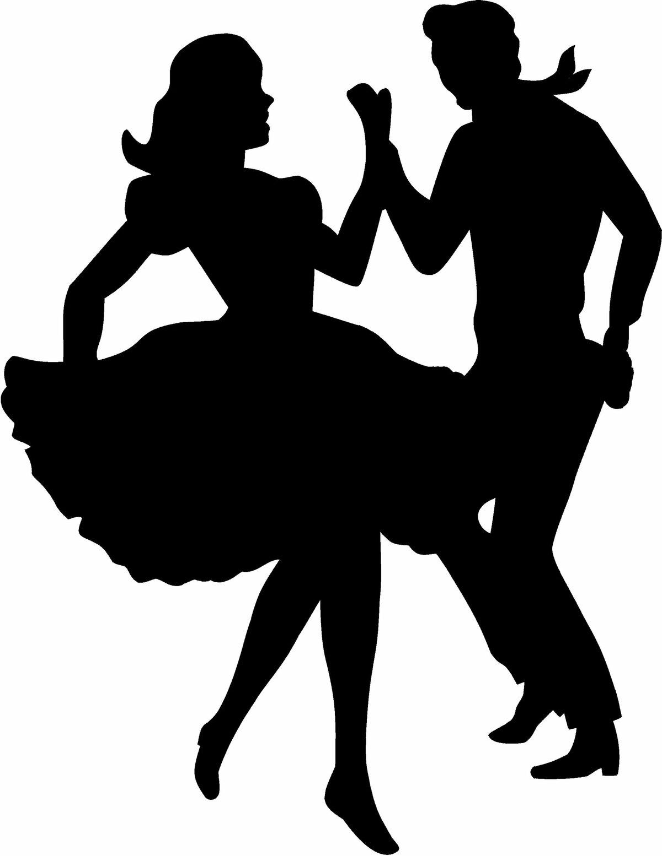 силуэты танцующих людей картинки вечно нами
