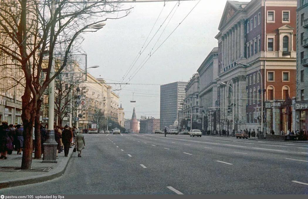 Старые фото улицы городская г москва