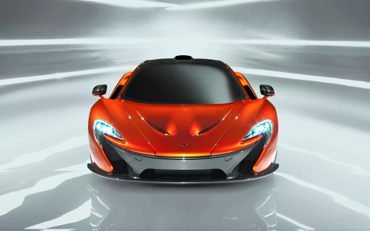 Download 2880x1800 pix Car Photo - mclaren, P1, orange, cars