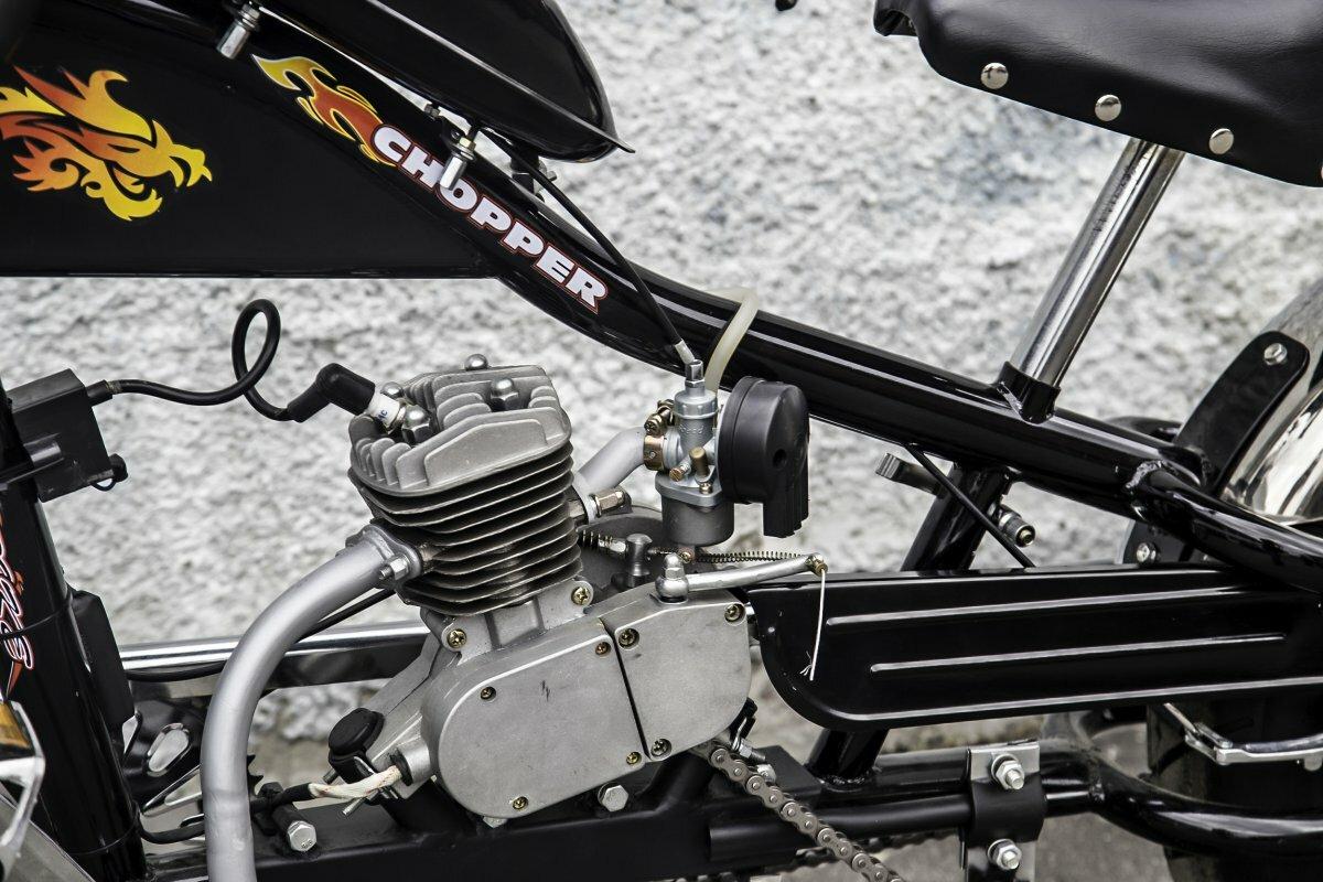 Велочопер с бензиновым мотором