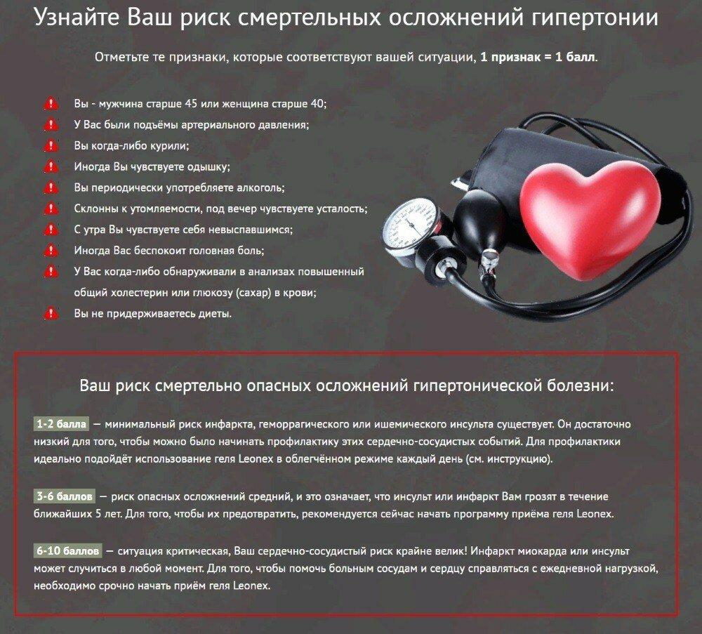 Leonex от гипертонии в Харькове