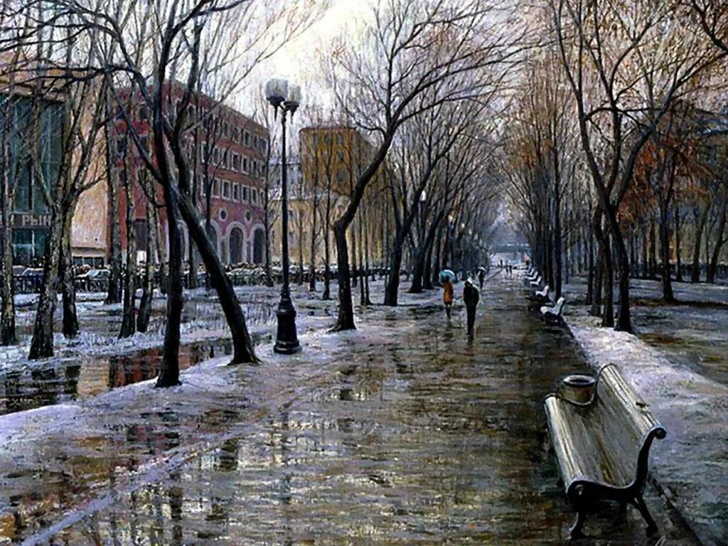 все картинки дождь весной в городе красивых