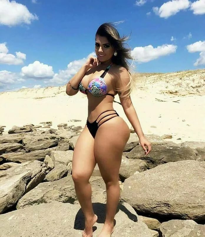 Charming Brazilian Blessed With Curves 1