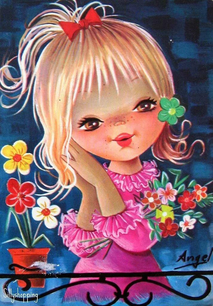 Рисунок ногтях, открытки смущение спасибо