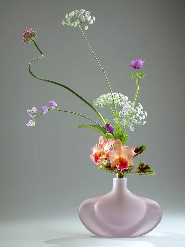 морибана в низких вазах картинки лучших композиций что покрашана