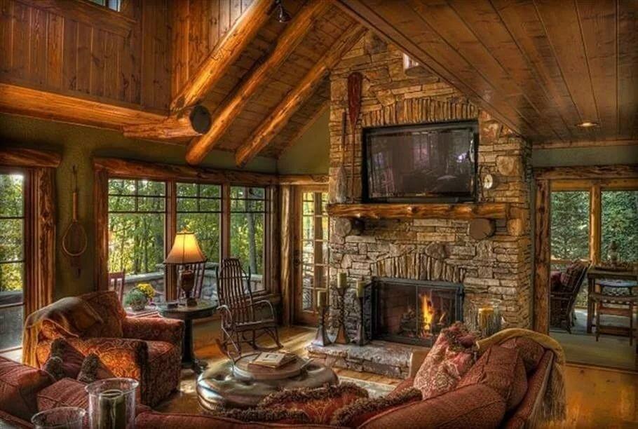 Картинка уютного дома изнутри