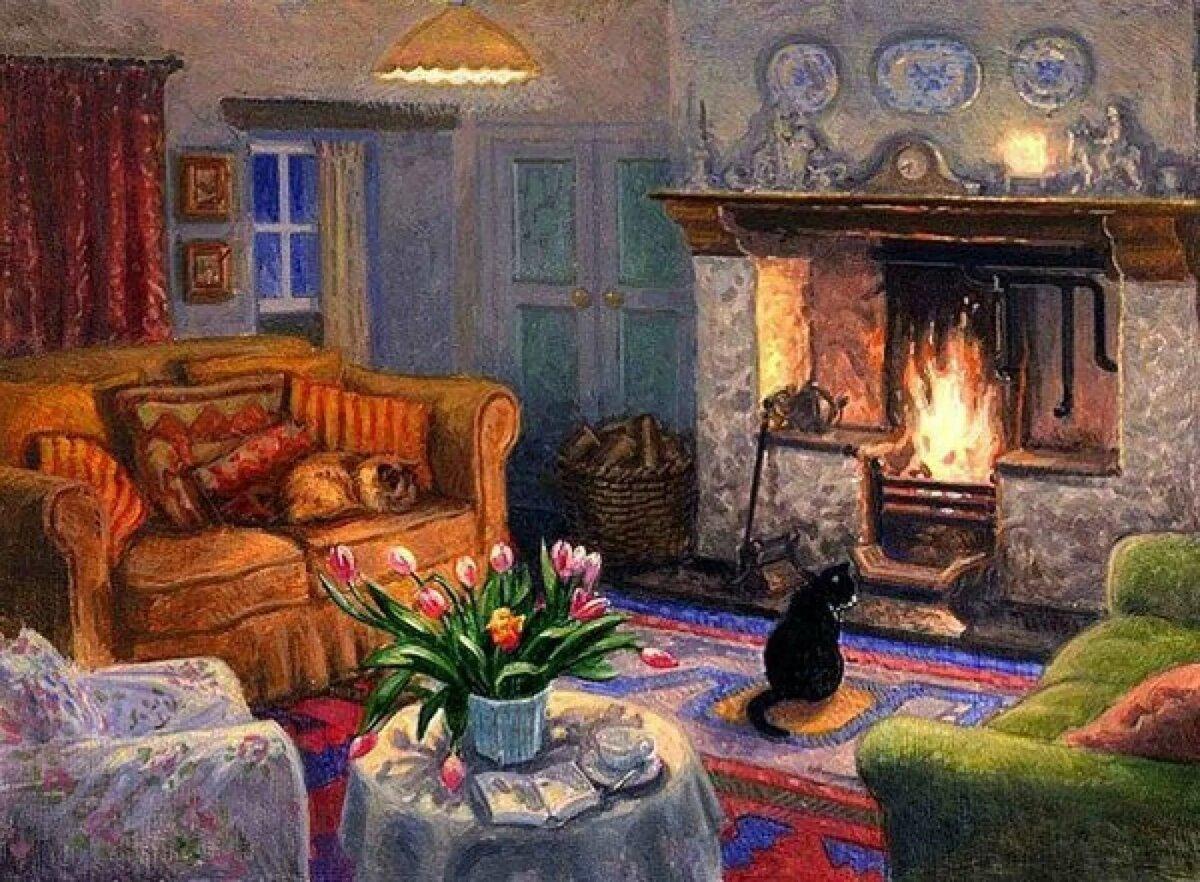 картинки на тему мой дом уютно в нем моё