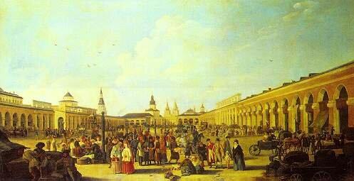 Перестроенная Кваренги Красная площадь