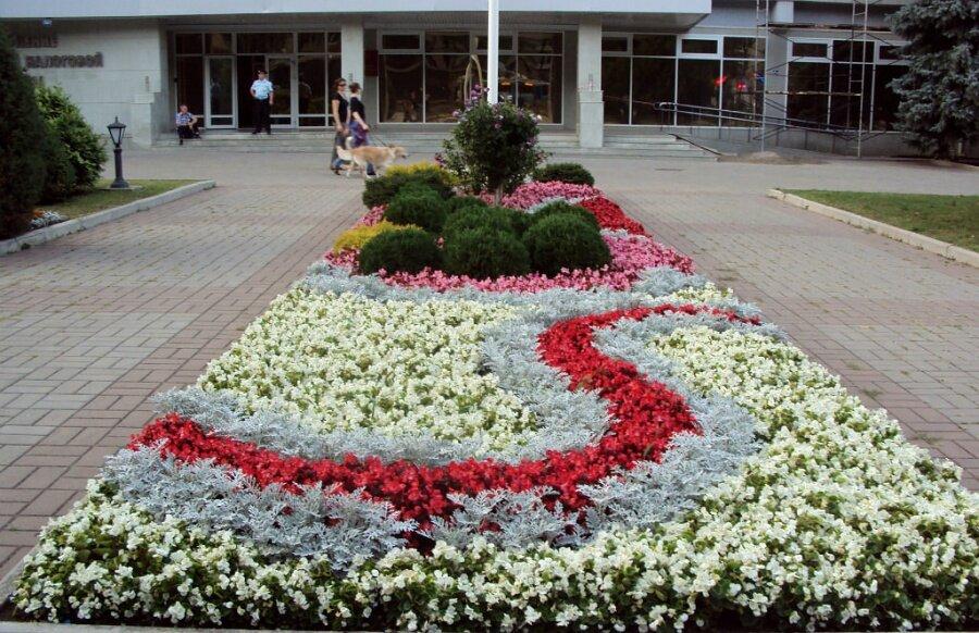 Букет, доставка цветов по городу мариуполь клумба