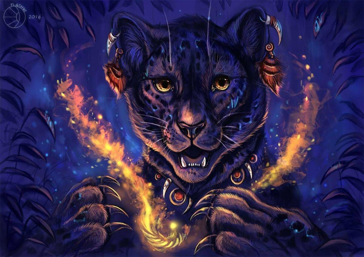 Картинки мистические тигры