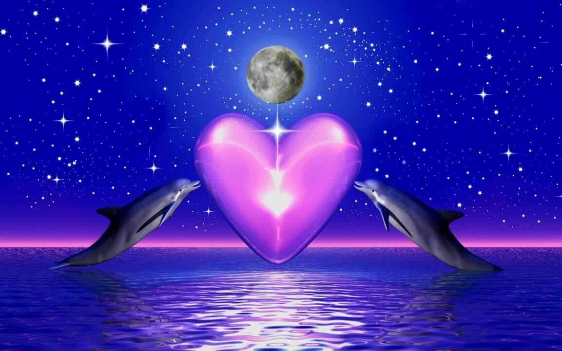 Картинки сердечки с надписью спокойной ночи