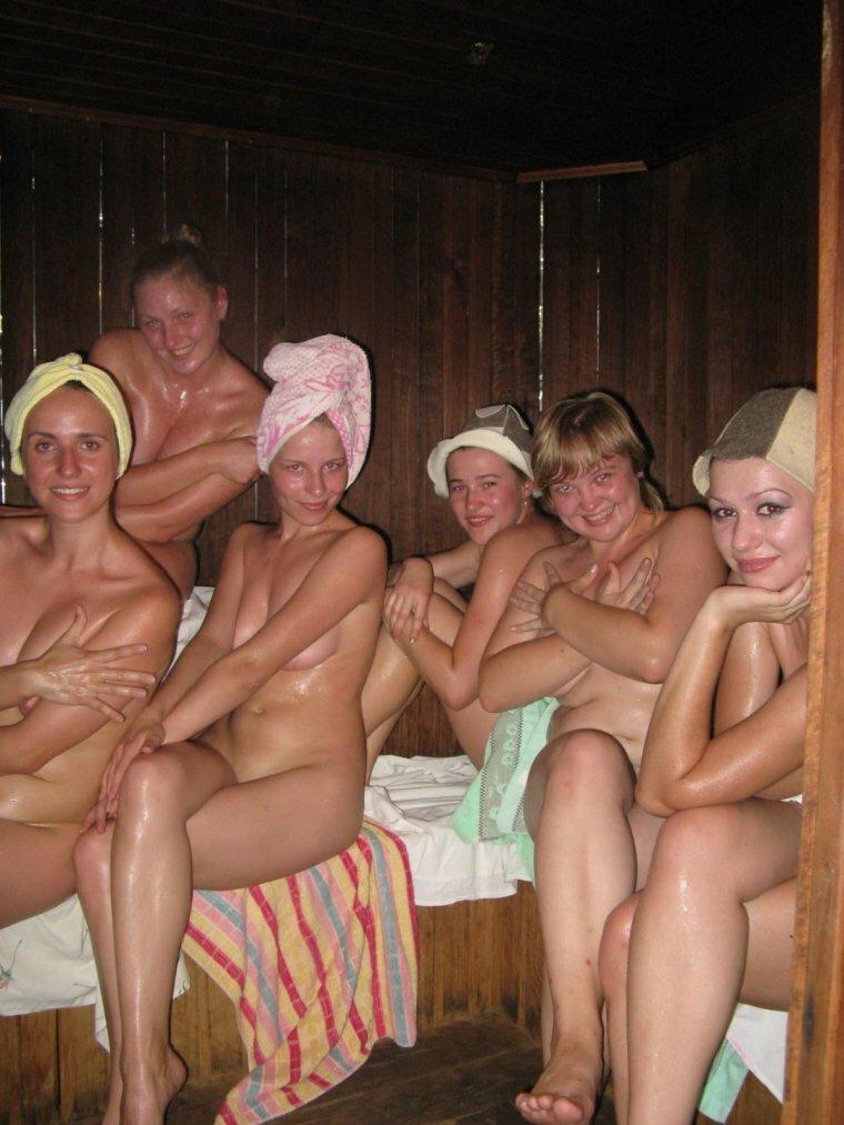 скрытая камера девишник в бане - 1