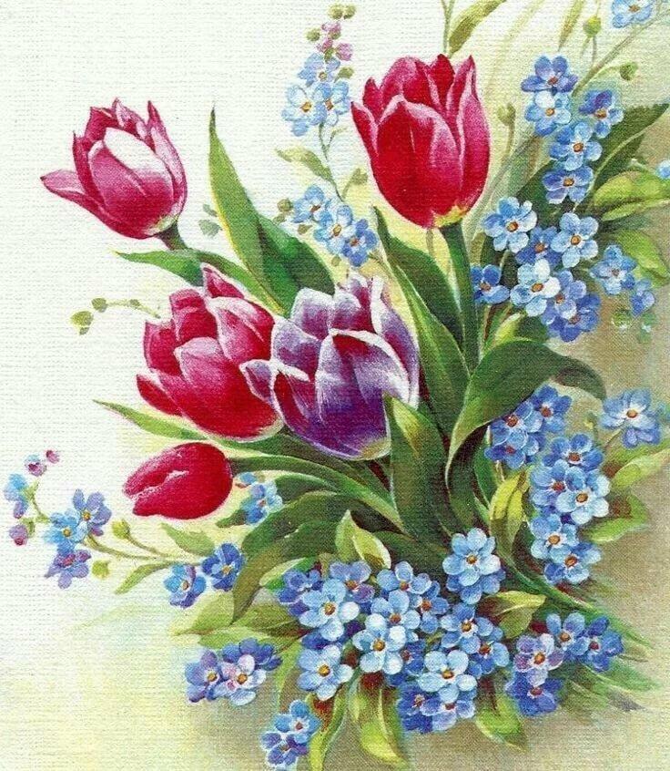 Открытки именем, рисунок открытки с цветами