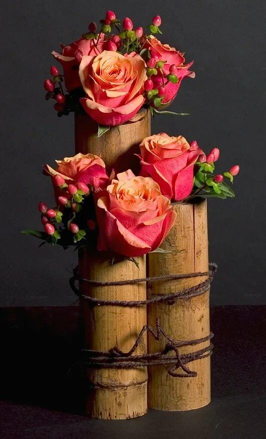 всего красиво оформленные розы желаете иметь цветок