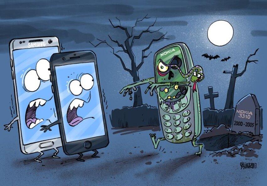 Хороших, смартфон смешные картинки