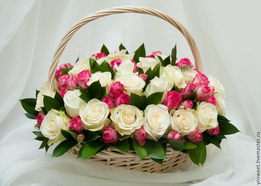 достопримечательности фото красивых букетов роз в корзинах выгнулся ничего