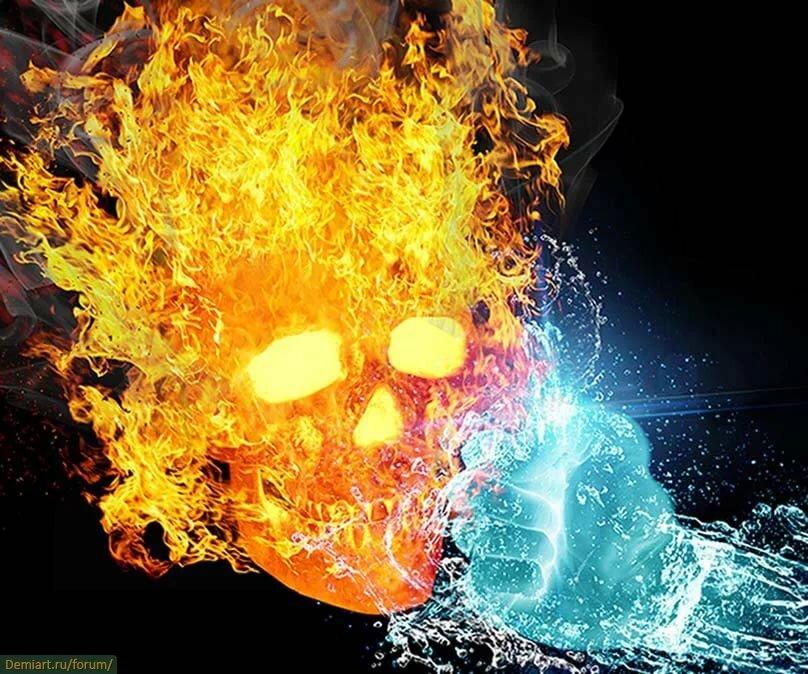 сегодня картинки плохой огонь и вода есть немного разные