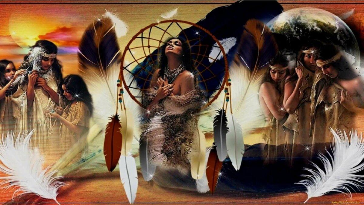 обои на рабочий стол индейцы северной америки представлены