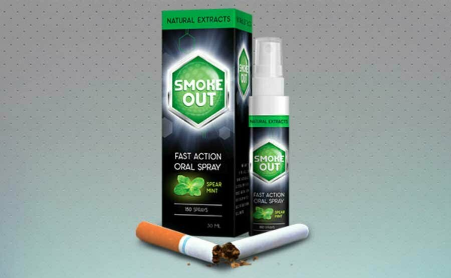 Smoke Out - спрей против курения в Октябрьске