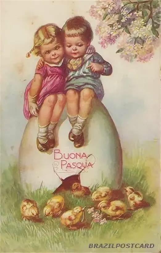 Поздравление с католической пасхой открытки на итальянском, последний день