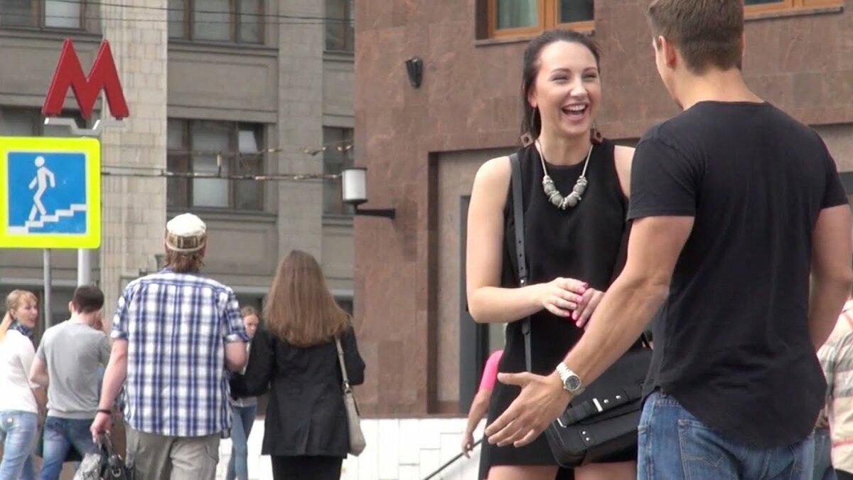 Знакомство на улице студентов с продолжением видео — 15