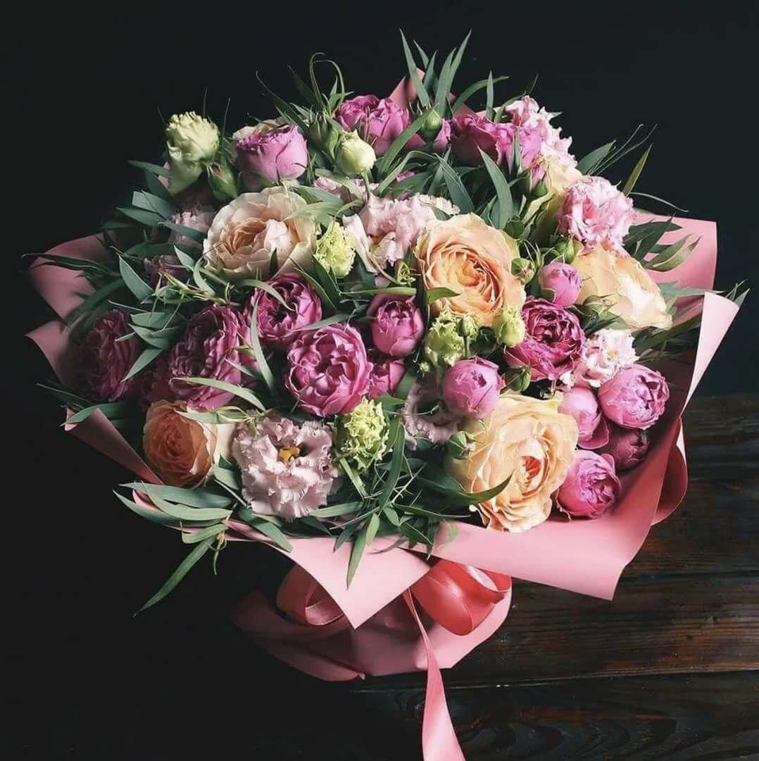 цветы картинки букет пионовидные розы что