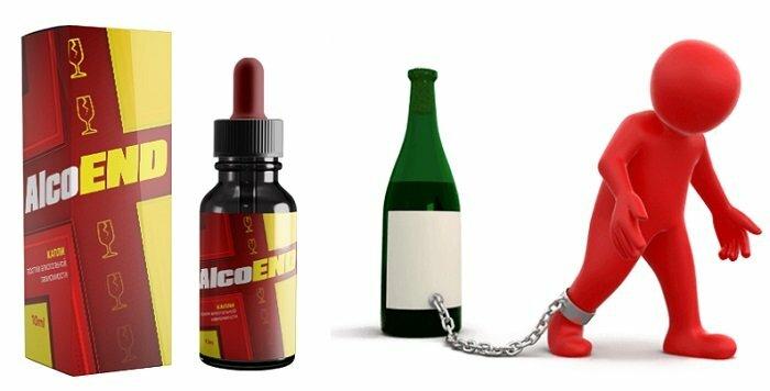 AlcoEnd капли от алкоголизма