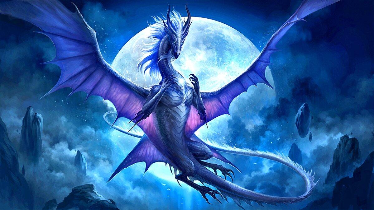 Красивые картинки с драконами