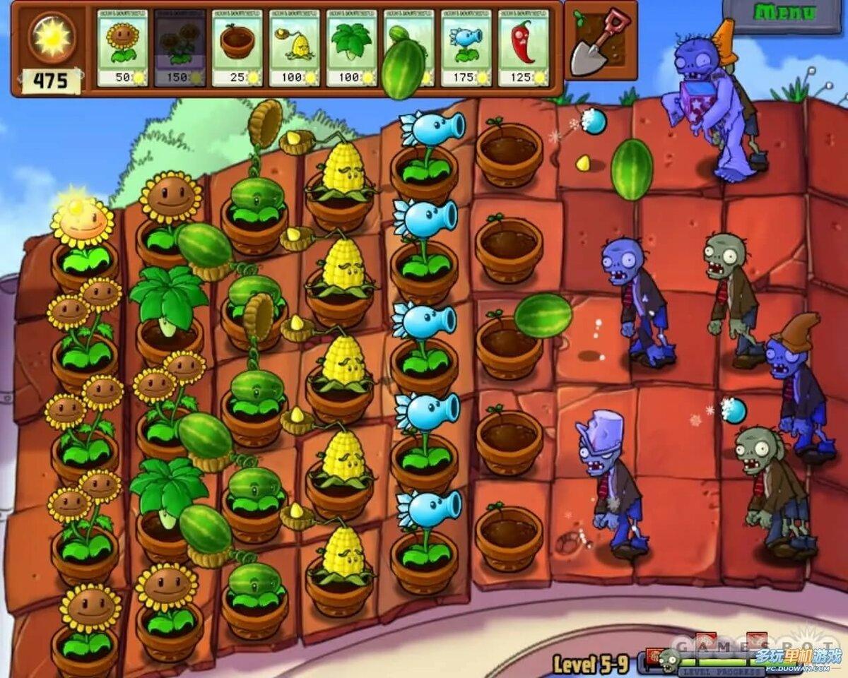нам показали, картинки в игре растения против зомби процессе
