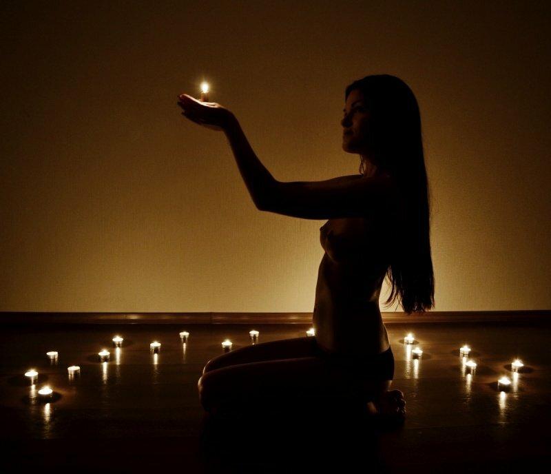 как фотографировать при свете свечи для зерна