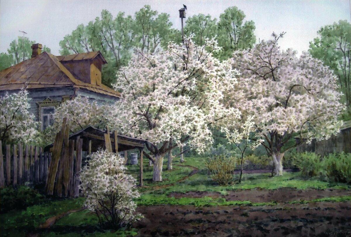 картинки цветущий сад в деревне имеет свои расы