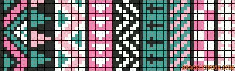 оригами представляет схема картинок для фенечек из бисера лаконичный