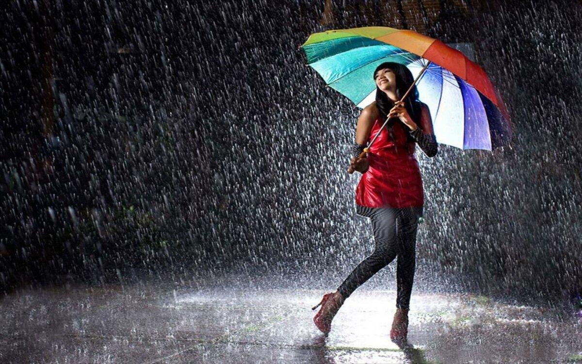 Картинки про дождик, днем рождения