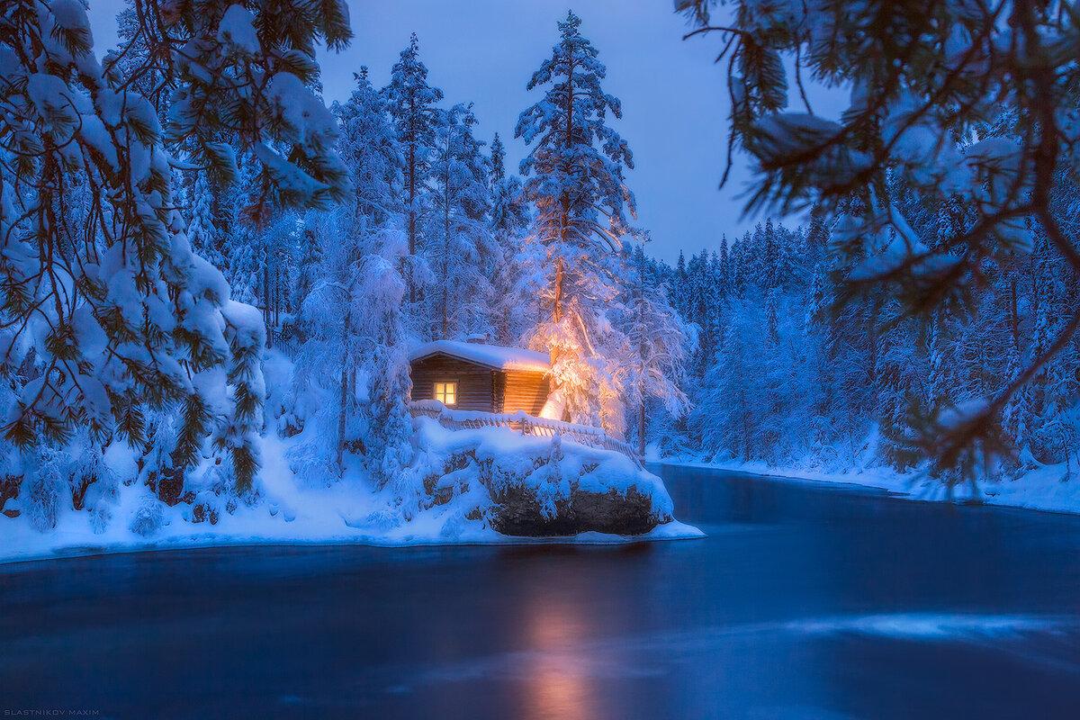 лапландия фото зимой агейкин