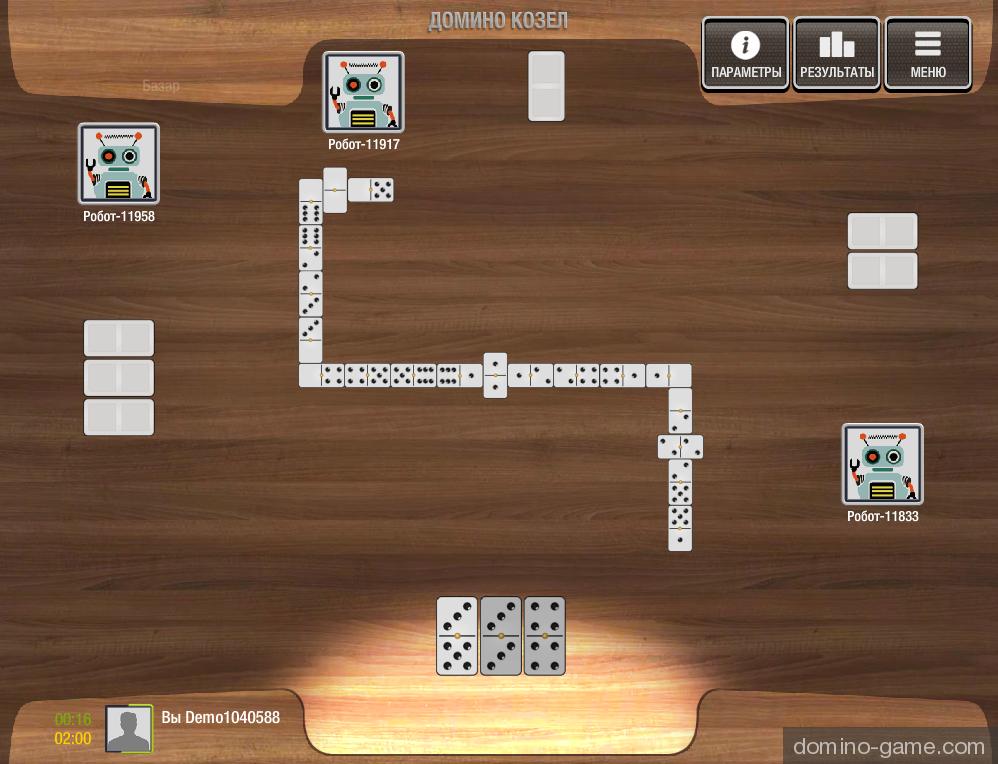 домино карточная игра