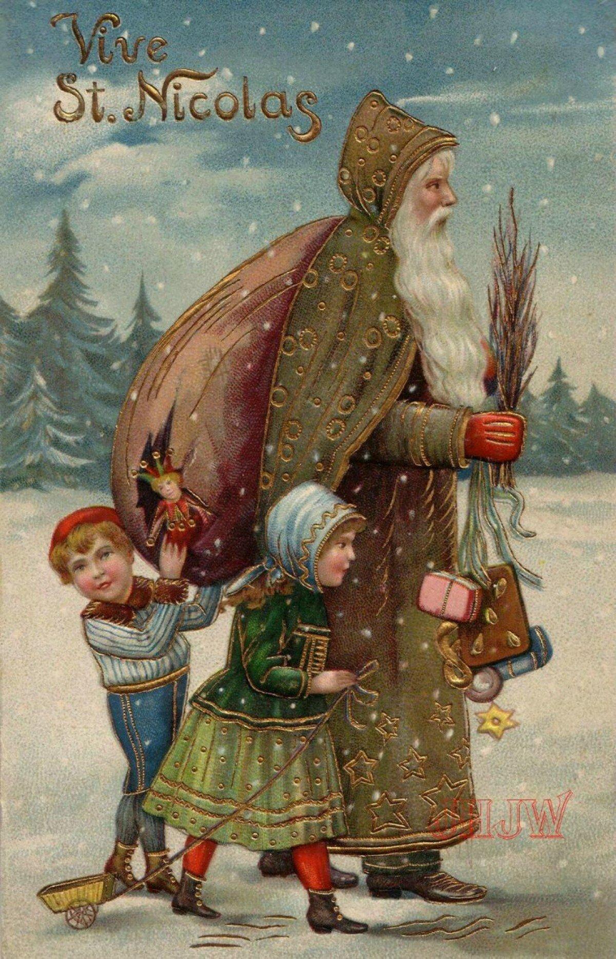 Николай Чудотворец: прообраз Санта-Клауса