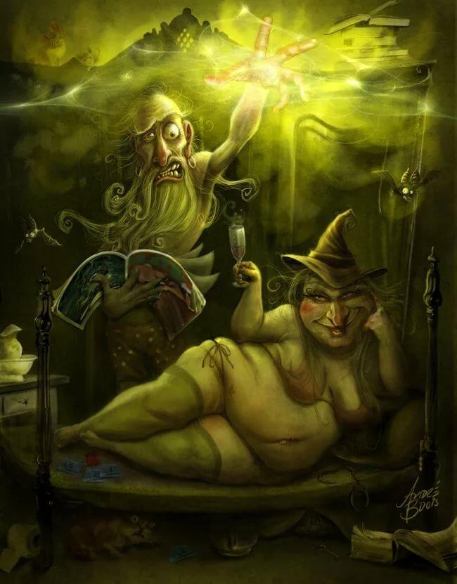 Прикольные картинки маги