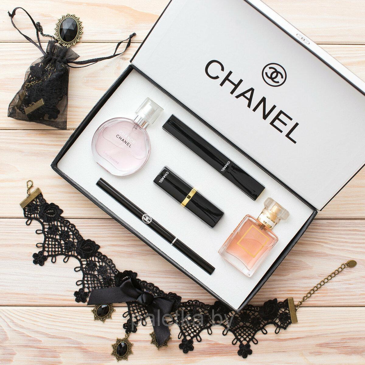 Chanel Present Set набор 5 в 1 в Жанаозене